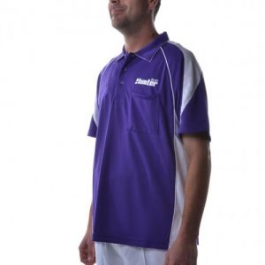Hunter-Mens-Polo-Purple-White-51301