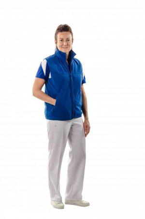 Hunter-unisex-fleece-vest-royal