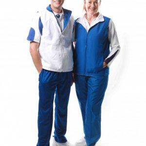 Hunter-unisex-reversible-vest-royal-blue