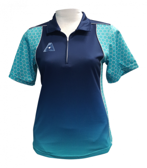 Hunter-ladies-platinum-polo-zip-709zipnjd