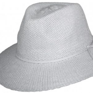 Ladies-broad-brim-adjustable-hat-white
