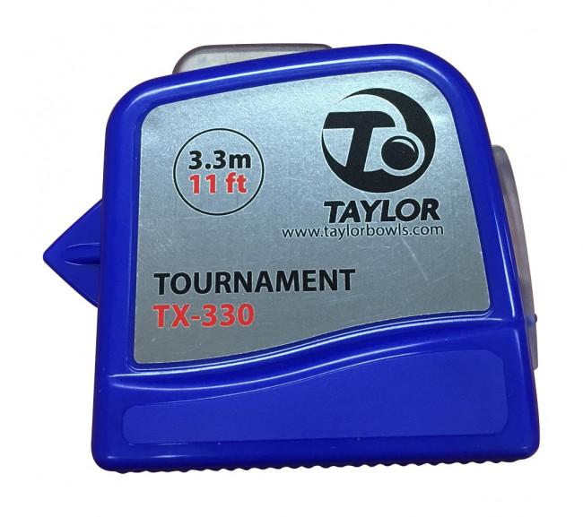 Taylor Lawn Bowls Measure Blue